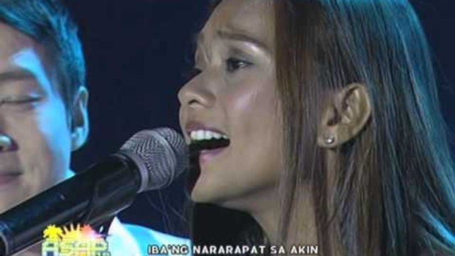 Kitchie Nadal sings her hits on ASAP 19