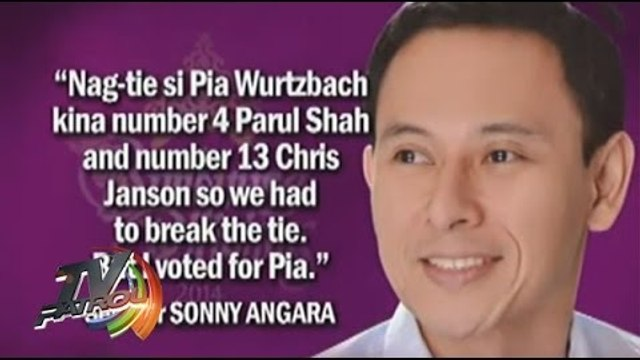 Sen. Sonny Angara reacts on Pia Wurtzbach loss