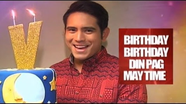 BIRTHDAY PAG MAY TIME : Gerald Anderson