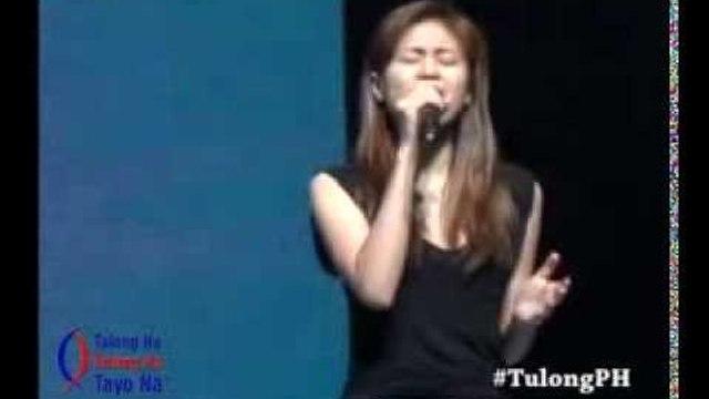 Toni Gonzaga at TulongPH Concert Rehearsals