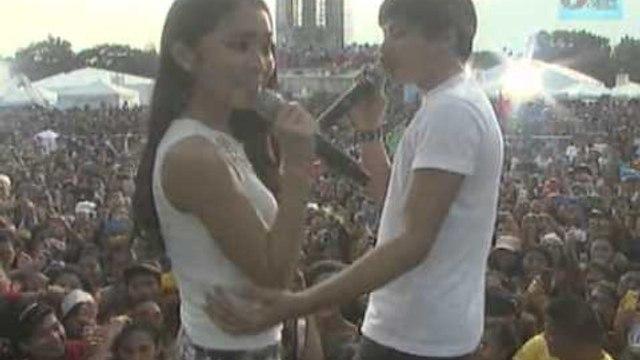 ABS-CBN 60 Years : Kathryn Bernardo & Daniel Padilla at GKW