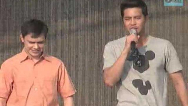 ABS-CBN 60 Years : Zanjoe Marudo & Patrick Garcia Dance Whoops Kiri at GKW