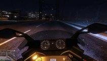 GTA V Real Handling Mod Hakuchou 400km/h playable