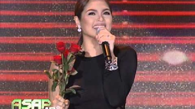 Judy Ann Santos sings on 'ASAP' stage again