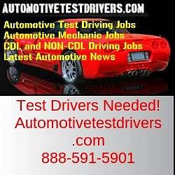 Test Driving Jobs In Portland OR | Autotestdrivers.com | 888-591-5901