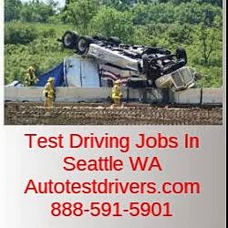 Test Driving Jobs In Seattle WA | Autotestdrivers.com | 888-591-5901