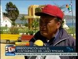 Bolivia: Aymaras alertan sobre contaminación del Lago Titicaca