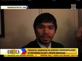 Pacquiao speaks at US National Prayer Breakfast