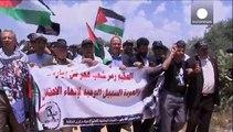 """Палестинцы отметили 67-ю годовщину """"Накбы"""""""