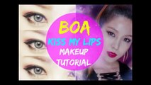 BoA 보아 Kiss My Lips Makeup Tutorial