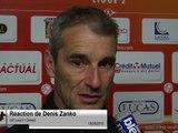 (J37) Laval 3-1 Clermont, réaction de D. Zanko