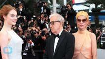 Emma Stone Stuns in While Lace Dior Gown at Cannes Red Carpet