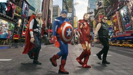 Musikalische Avengers Parodie