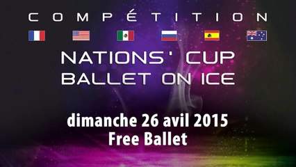 Nations'Cup - Ballet on Ice 2015 - Free Ballet