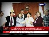 Estrada: Luy had bank accounts worth P151-M