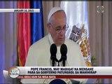 'Pagnilayan ang mensahe ni Pope Francis'