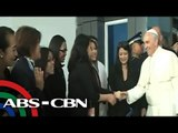 Pope bids goodbye to Pinoys, boards plane to Rome