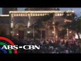 Dadalo sa misa ng Santo Papa sa Manila Cathedral nakapila na
