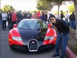 Bugatti veyron V Subaru WRX STI mclaren slr cars and coffee