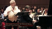 """Romance"", Camille Saint-Saëns - Sir James Galway (flûte & piano)"