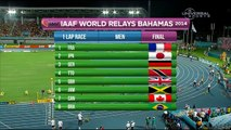 Jamaica wins 4x100m in World Relay - Universal Sports