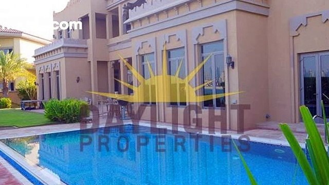 6 Bed Signature Villa  Gallery View  Arabic Style - mlsae.com