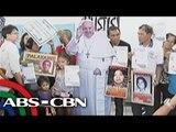 Mga kaanak ng political prisoners, humingi ng tulong kay Pope Francis