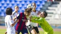 FCB Femení: FC Barcelona - València, 0-1 (Copa de la Reina, seasson 2014/15)