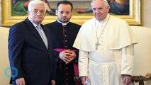 Pope Welcomes Mahmoud Abbas Ahead of Treaty With Palestine