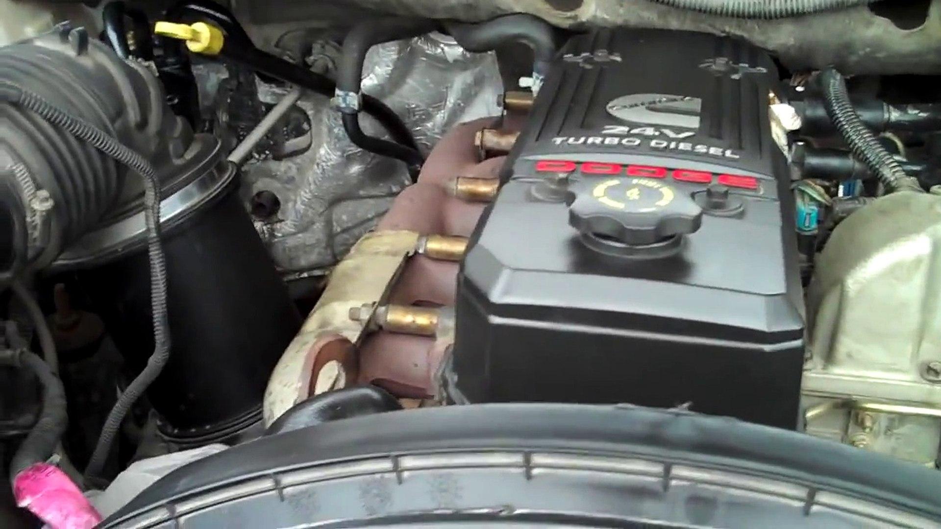 How to Change the Serpentine Belt on a 2003 - 2007 Dodge Cummins 5 9