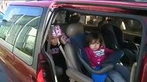 Unrestrained Children  - People Behaving Badly