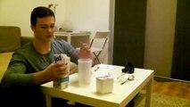 Schneller Einfacher und Günstiger Eiweißshake zum selber machen