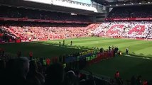 Steven Gerrard Walks Out At Anfield For The Last Time...