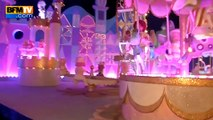 Valérie Trierweiler avec le Secours populaire à Disneyland
