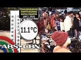 Baguio, Tagaytay temperatures plunge