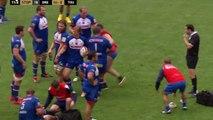 Rugby : un stearker version Superman se prend un bon placage