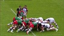 TOP14 - Bordeaux - Bayonne: Essai Martin Bustos Moyano (BAY) - J25 - Saison 2014/2015