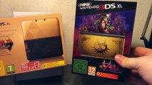 - UNBOXING - NEW Nintendo 3DS XL Zelda Majora Mask Collector + Figurine {FR} / HD