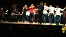 Το Μουσικό Σχολείο Πειραιά χορεύει Ζορμπά-συρτάκι με μαθητές από το σχολείο Fuente Nuevo στο El Ejido-Ισπανία 20-04-15