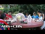 'Bandila' shares Xmas cheer with carpark boy's family