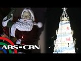 Christmas sights: Giant tree in Batangas; Life-sized Santa in Quezon