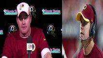 Washington Redskins head coach Jay Gruden on RGIII 'He needs to worry about himself'