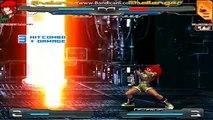 Annihilated Clones Orochi Leona VS Iori Clone & Kyo Clone