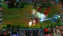 Top 20 Best Plays   League Of Legends 2014 EU LCS CS Week 10  11 LOL Game Highlights