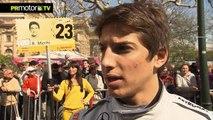 DTM 2012 - Entrevista a Miguel Molina y Roberto Merhi - Pruebas previo 1era Carrera - PRMotor TV