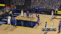 WARRIORS vs GRIZZLIES - Luis Presa (warriors) West conference semifinal PLAYOFFS game 6-part 3 to 8