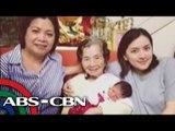 Ara Mina shares her newborn baby