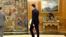 "Pedro Sánchez habla con Felipe VI de su ""agenda intensa"""