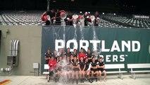 Portland Thorns FC Ice Bucket Challenge