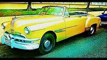Cuba Cars OLD HAVANA CUBA VEDADO 1950s AMERICAN CLASSIC Convertible US Embargo on Cuba Cars